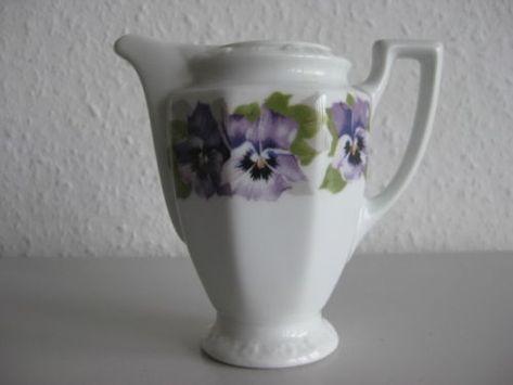 Milchkännchen von Rosenthal Maria Stiefmütterchen