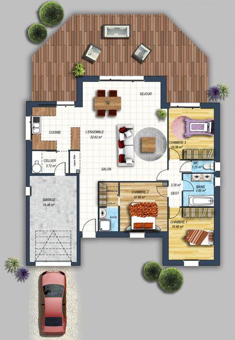 512 best Plans de maison images on Pinterest House design