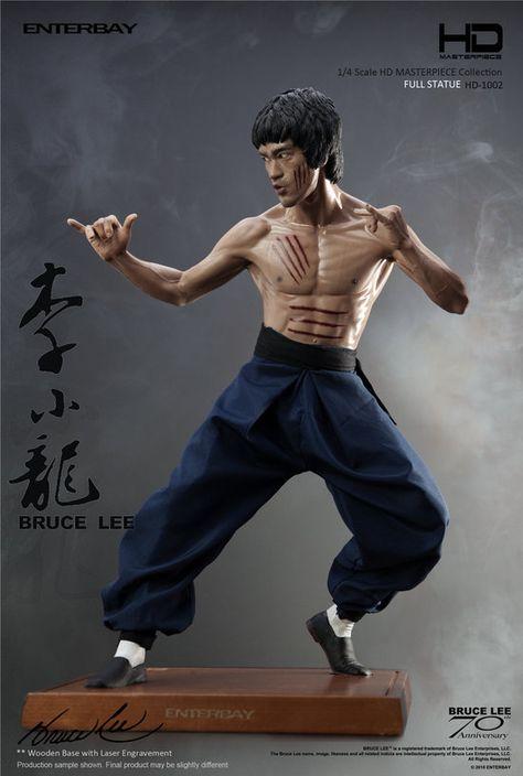 Details about  /Bruce Lee Fighting Version PVC Action Figure Model