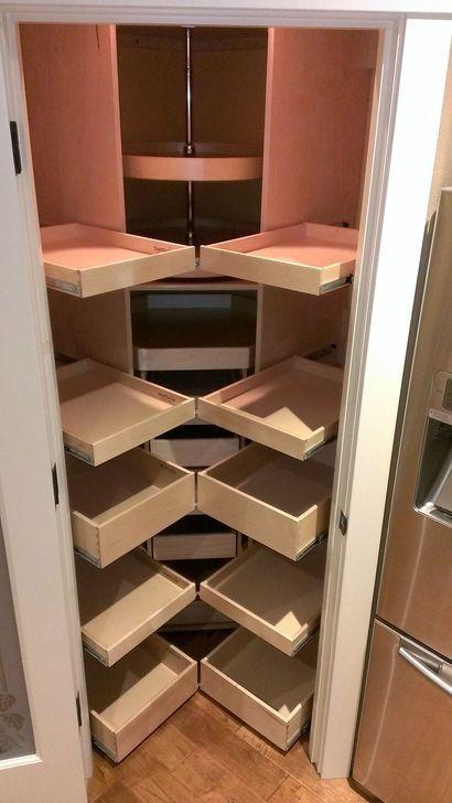 Gorgeous Corner Cabinet Storage Ideas For Your Kitchen 21 Kuche Arbeitsplatte 20 Gorgeous Corner Cabinet S Eckschrank Kuchen Speisekammer Schranke Kuchenecke