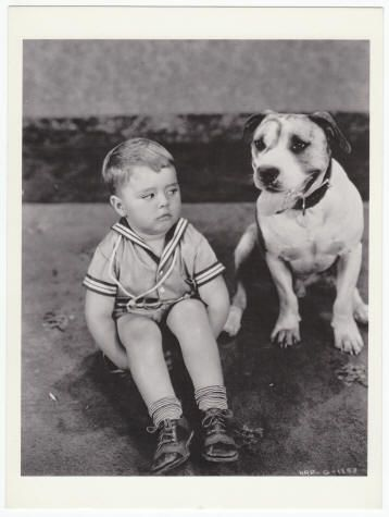 SPANKY AND PETE: Post Card #OGC4, Ex/M-, 1982, size 4.5 x 6 inches, B&W shot of George
