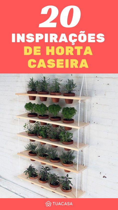 Horta em casa: cultive temperos e hortaliças do seu jeito