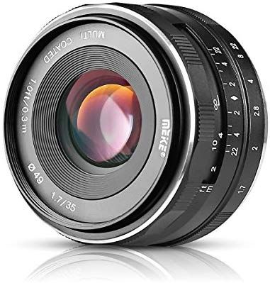 Amazon Com Meike Mk E 35 1 7 35mm F1 7 Large Aperture Manual Prime Fixed Lens Aps C For Sony E Mount Digital Mirrorless Cameras A7iii A9 Nex 3 3n 5 In 2020