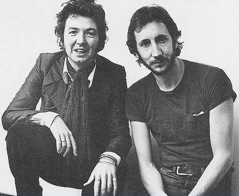 Ronnie Lane and Pete Townshend