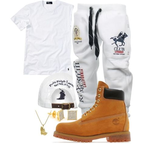 featuring Polo Ralph Lauren, Timberland, Roial, men's fashion and menswear