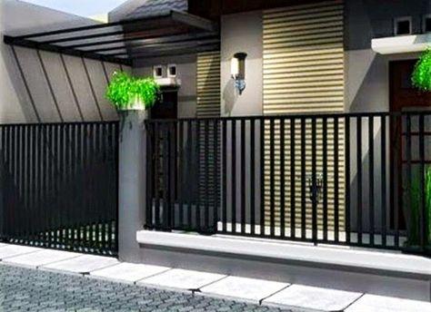 pagar rumah minimalis - harga dan contoh gambar | dekorasi