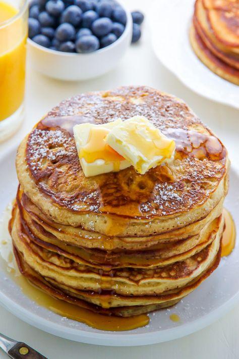 My Favorite Buttermilk Pancakes - A Fluffy Buttermilk Pancake Recipe