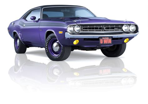The 1971 #Plumcrazy #Hemi #Challenger from the 2013 Challenger Dream Giveaway in Plum Crazy. We're plum crazy about it, lol. Enter to win it at: http://www.winthemopars.com and use promo code: TP1913H for bonus tickets.