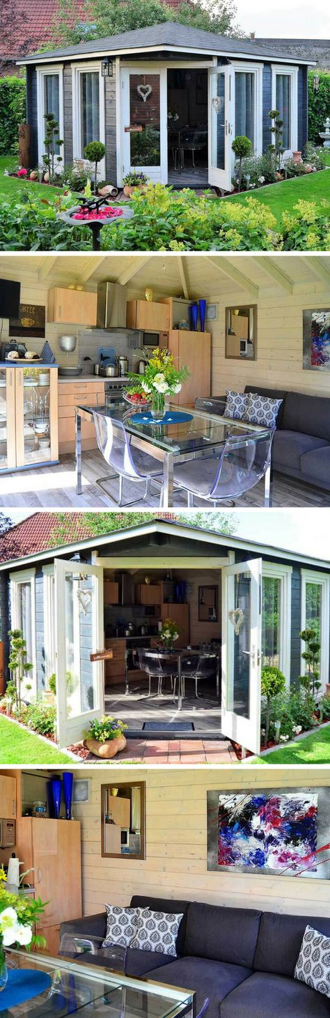 Gartenhaus Maja: Das Sommerhaus im Paradiesgarten