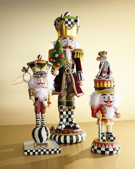 MacKenzie-Childs Trim the Tree Nutcracker Figure | Neiman Marcus