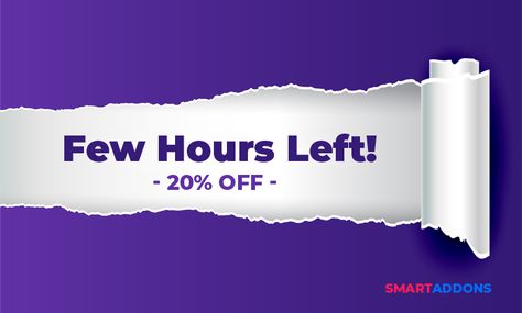 FEW HOURS LEFT ONLY To Save 20% OFF Storewide