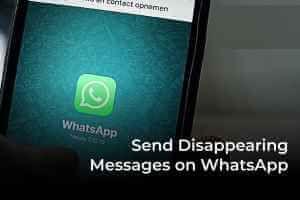 كيفية إرسال الرسائل ذاتية الاختفاء على Whatsapp Messages Incoming Call Incoming Call Screenshot