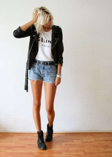 Summer Outfit Comfortable Fashion Clothes Dr Martens Outfit