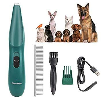 Keepwe Dog Clippers Dogs Cats Grooming Kit Professional Pet Clippers For Small Dogs Cats Usb Recha In 2020 Dog Grooming Clippers Dog Grooming Cat Grooming