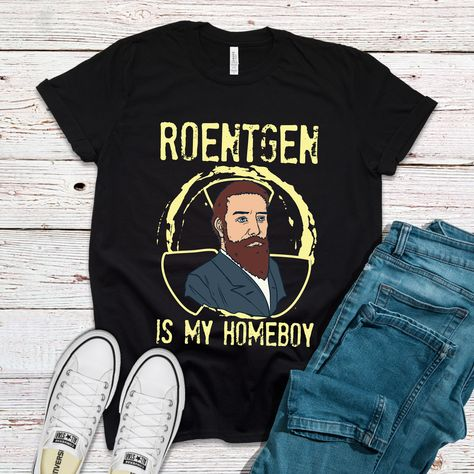 Roentgen Is My Homeboy Funny Doctor Nurse Shirts - Red / XS