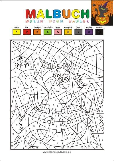 Halloween Coloring Pages Coloring By Numbers Download Free Coloring Pages In 2020 Halloween Coloring Pages Free Printable Coloring Pages Halloween Coloring