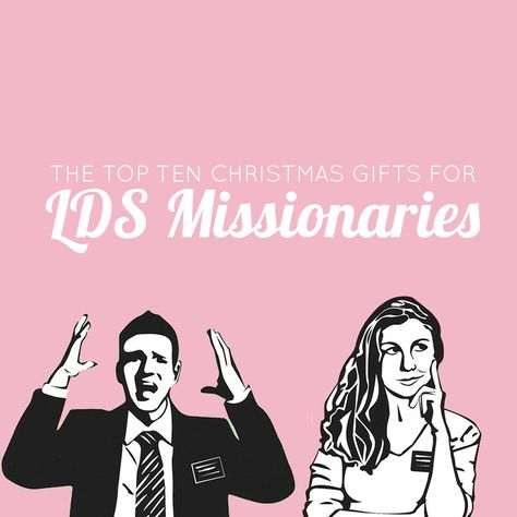 The Top 10 Christmas Gifts for LDS Missionaries | Includes links to great products and unique ideas you might not have thought of.