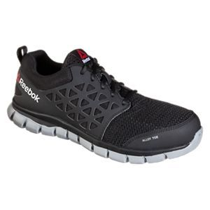 Reebok Sublite Alloy Toe Athletic Oxford Work Shoes for Men