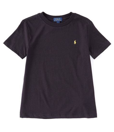 Polo Ralph Lauren Childrenswear Little Boys 2T-7 Collegiate Short-Sleeve Crew Neck Jersey Tee | Dillard's