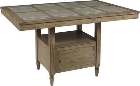 Keystone Collection D864 12 64 Tile Counter Table With Table Top
