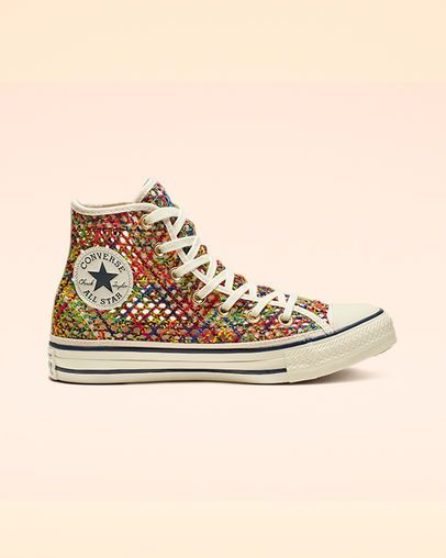 Chuck Taylor All Star Crochet High Top Womens Shoe. Converse
