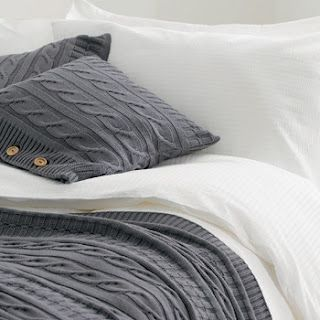 Cable Knit Bedding Something About This Is So Amazing Like