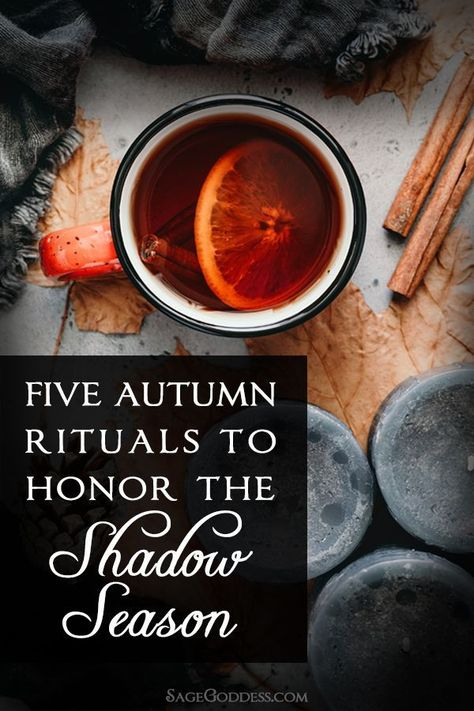 October is rich with seasonal celebration and traditions, and for good reason. After a long, laborious summer and fall harvest season, October is an opportunity to reap the many rewards of your year's hard work. Here are 5 autumn rituals to honor the shadow season and celebrate the magic of fall.