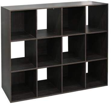 Rebrilliant Emilee Stackable 12 Open Wood Cube Bookcase Wayfair Cube Bookcase Cube Storage Home Basics