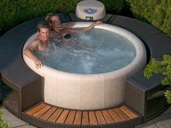 Advantages And Disadvantages Of Indoor Hot Tubs Vs Outdoor Hot Tubs Hot Tub Garden Portable Hot Tub Hot Tub Deck