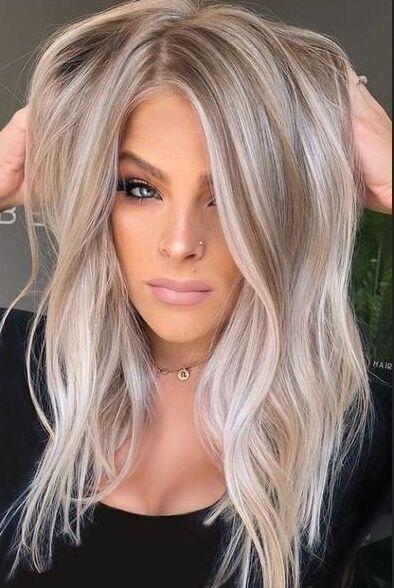 36++ Coiffure femme blonde mi long idees en 2021
