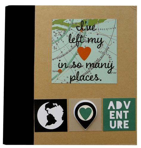 Travel SN@P! Binder - Travel SN@P! Set- Scrapbook.com
