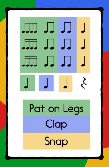 I've Taught this Folk Song, Now What? – Make Moments Matter Add a clapping game or body percussion to any folk song. Elementary Music Lessons, Music Lessons For Kids, Music Lesson Plans, Music For Kids, Piano Lessons, Music Activities For Kids, Elementary Schools, Kindergarten Music Lessons, Music Education Activities