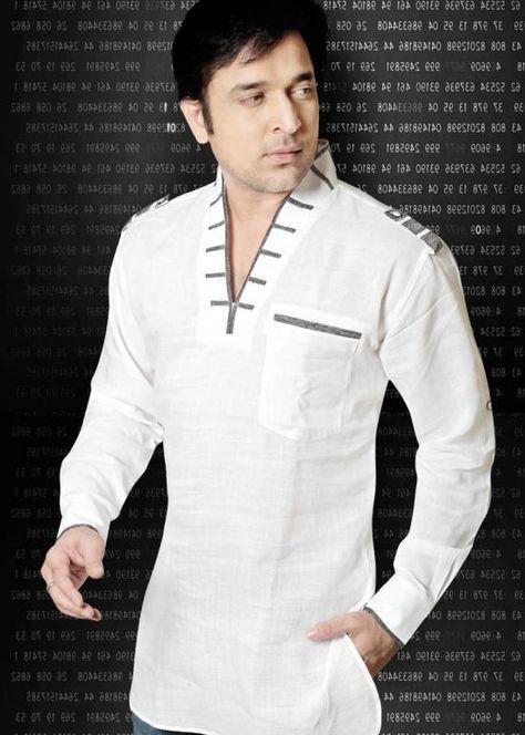 Meska Lniana Koszula Etniczna Weekendowa Roz S 4252672259 Oficjalne Archiwum Allegro Chef Jackets Fashion Jackets