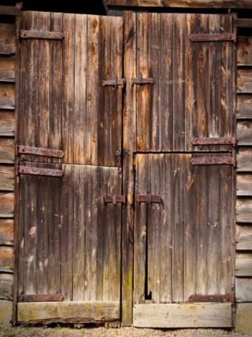 Kate Retro Style Vintage Wooden Door Photography Backdrop Door