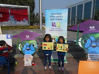 kids painting competition the paras world school - Kinder Kid Competition