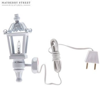 Miniature White Carriage Lamp Hobby Lobby 1565621 Carriage Lamps Lamp White Lamp