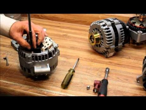 How To Change The Voltage Regulator On Ford 6g Alternator Alternator Voltage Regulator Automotive Mechanic