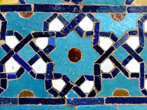 Isfahan/ Chahar Bagh Theological School/ tile works