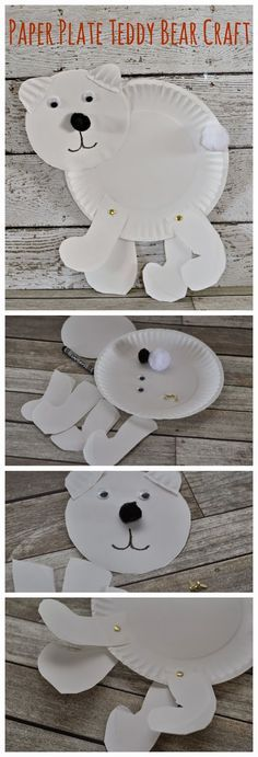Teddy Bear Picnics and Unlimited Talk Text Data. january paper plate polar bear craft ... & Adorable paper plate penguin craft for kids to make! Fun for winter ...