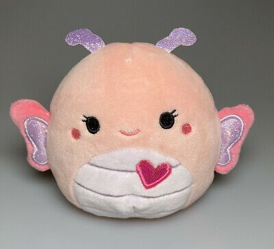 Kellytoy Squishmallow Maribel Pink Butterfly Soft Plush Stuffed Toy 3 5 Mini Pink Butterfly Soft Plush Plush