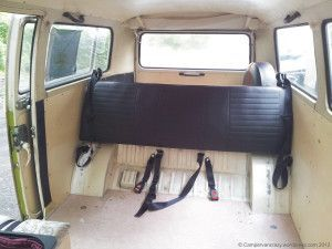 Seat Section Out Rock And Roll Bed Vw Ideas Camper Interior