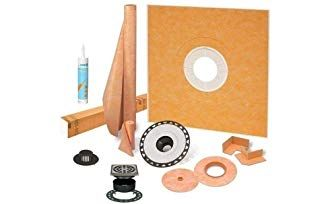 Schluter Kerdi Shower Kit 38 X38 With Abs Stainless Steel Drain