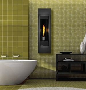 The TORCH Wall Mount Direct Vent Gas Fireplace | Cool gadgets ...