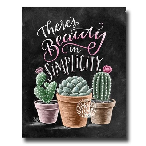 ♥ Theres Beauty In Simplicity ♥  ♥ L I S T I N G ♥ Each image is originally hand drawn with chalk and converted digitally. Chalkboard prints maintain the authenticity and dust of the original drawing smudge free. All prints are printed on Deep Matte Fujicolor Crystal Archive Professional