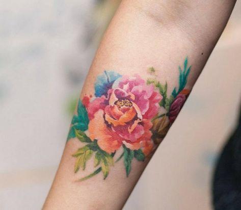 Qu Est Ce Qu Un Tatouage A L Aquarelle Et Combien De Temps Dure T