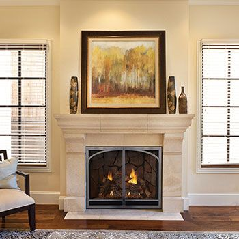 Empire Tahoe Clean Face Direct Vent Luxury Fireplace Direct Vent