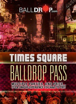 Balldrop Pass Times Square New Years Eve 2019 New Year S Eve