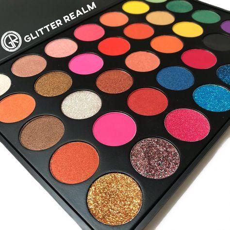Electric Zodiac Palette   Glitter Realm Cosmetics #makeuptips #EyeMakeupChristmas