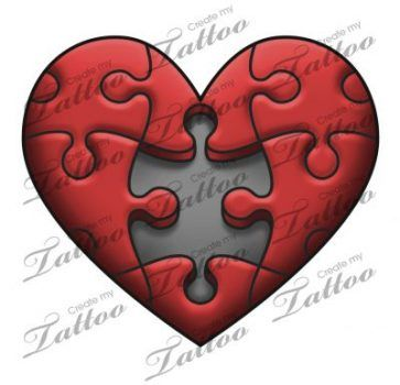 42 Ideas Tattoo Heart Mom Puzzle Pieces Puzzle Tattoos Puzzle Piece Tattoo Heart Tattoo