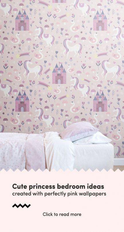 Bedroom Wallpaper Pink Girly 53 Ideas Girls Bedroom Wallpaper Childrens Bedroom Wallpaper Wallpaper Bedroom